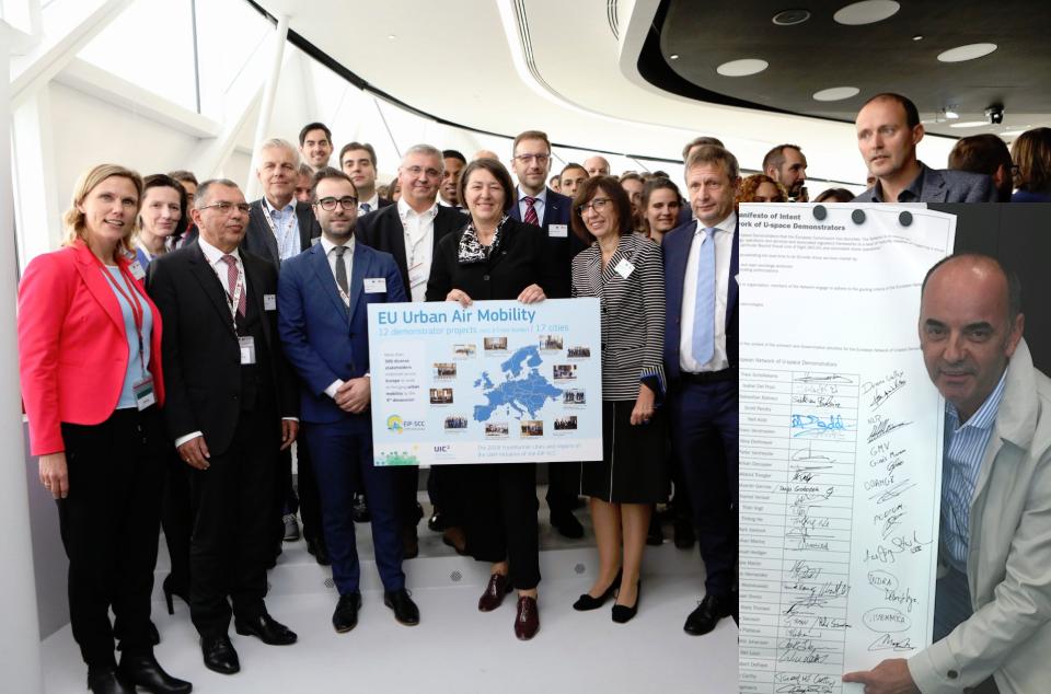European Network of U-space Demonstrators 1st Meeting