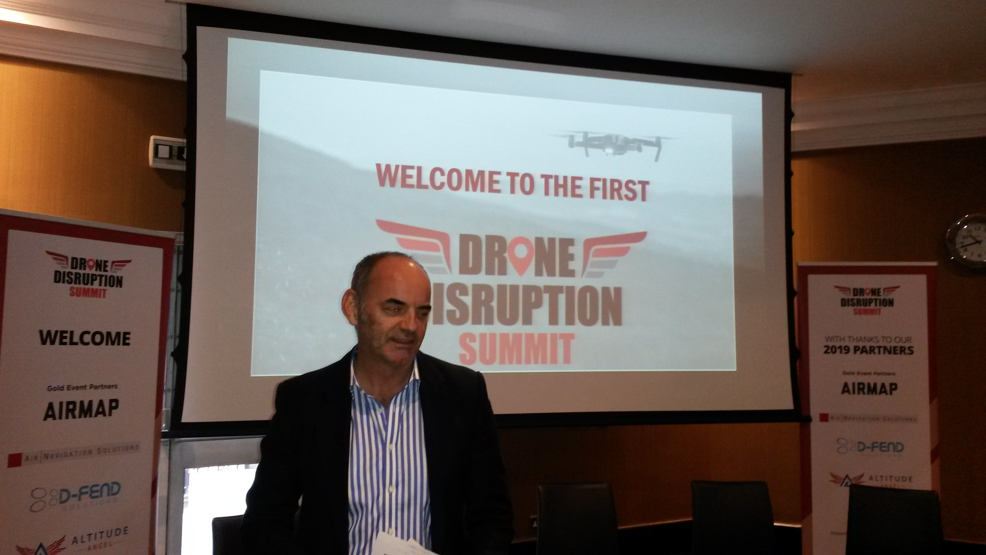 U-Flyte at the first Drone Disruption Summit at Heathrow