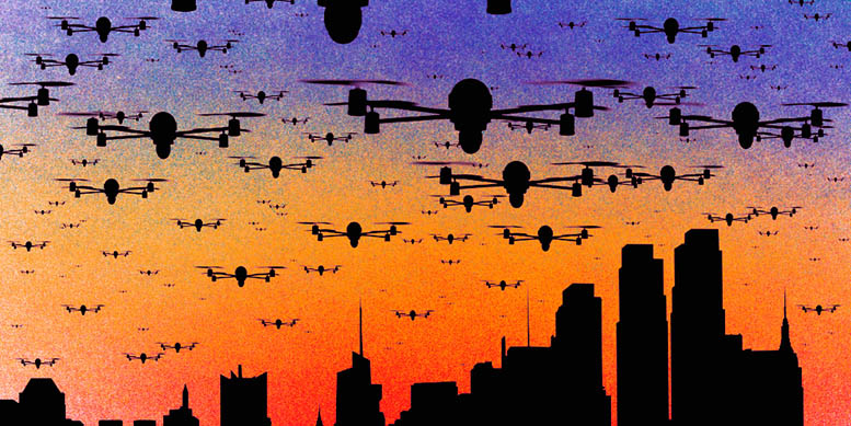 No space for human error in city drone operations