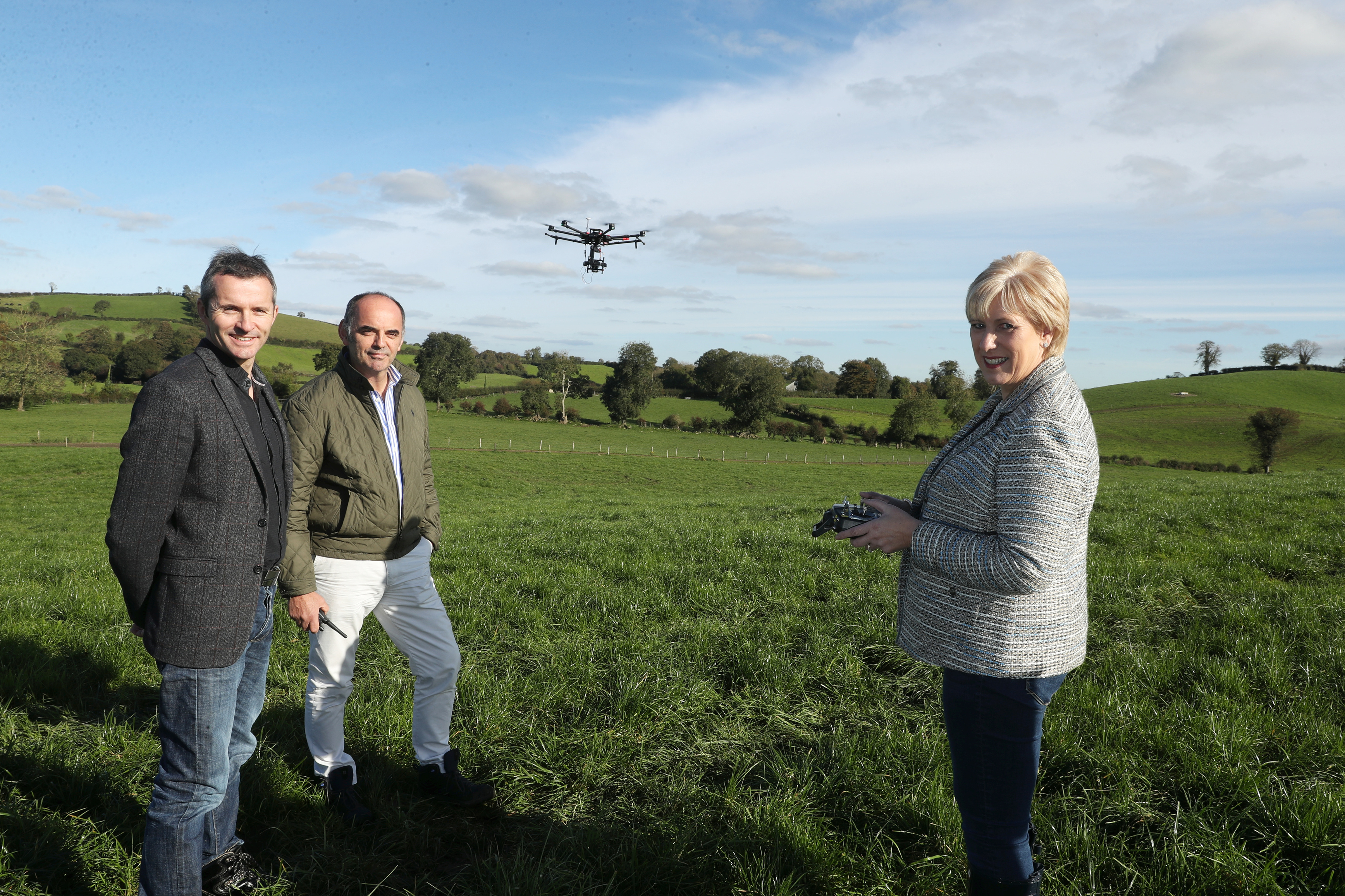 Minister Humphreys joins the U-Flyte team in Monaghan