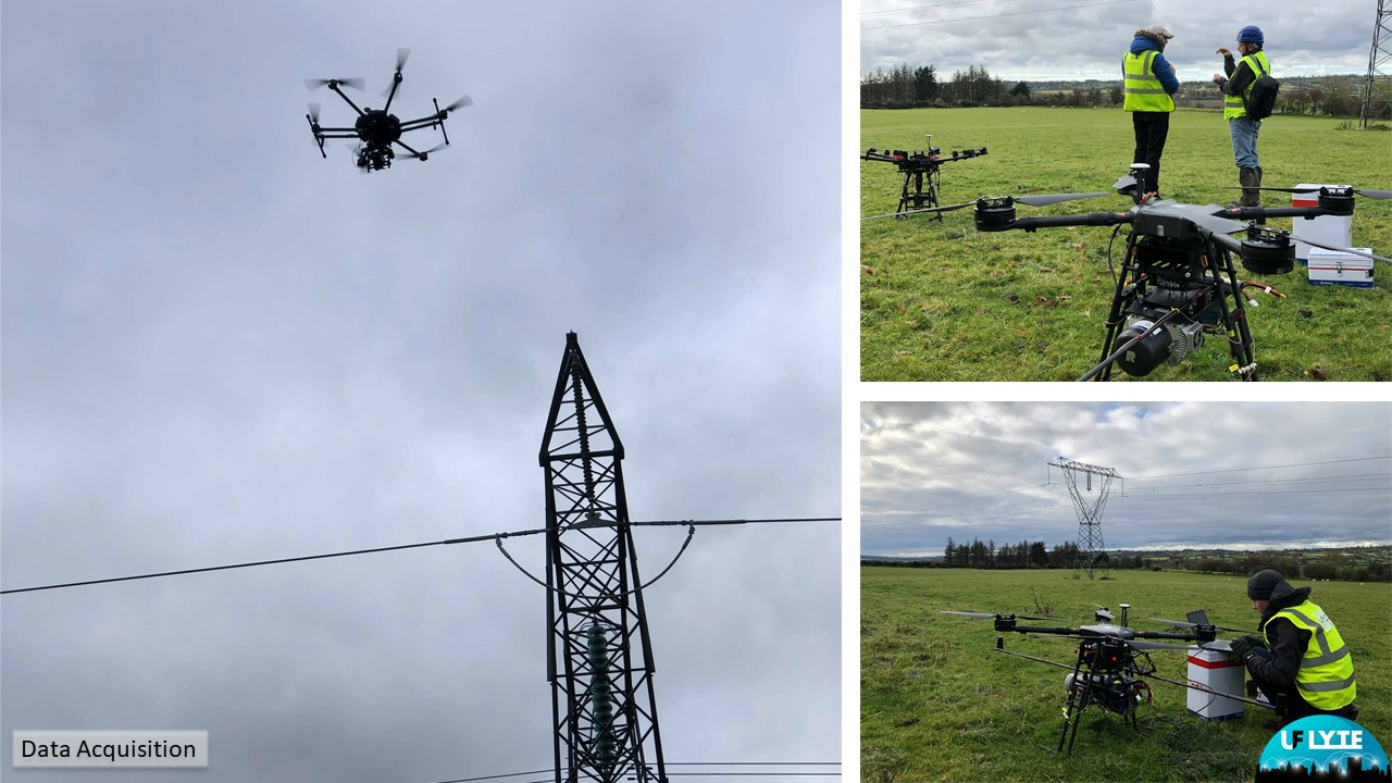 Initial powerline infrastructure testing with ESBI in Co. Wicklow