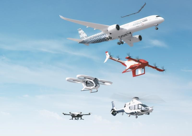 U-Flyte work in UTM is referenced in Airbus latest release of  Urban UTM Air Mobility Services